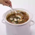 Cover slow cooker; cook on LOW setting 6 to 8 hours or until beef is tender. Stir in sour cream, sherry and dillweed.