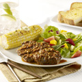 Serve with corn on the cob and Texas toast.